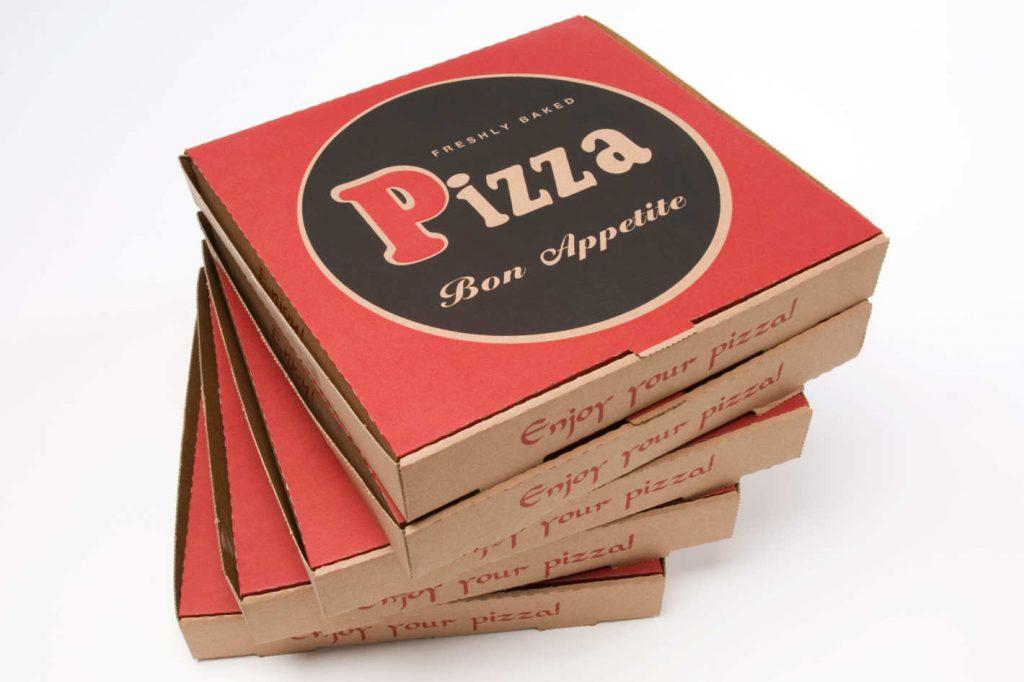 baskılı pizza kutuları