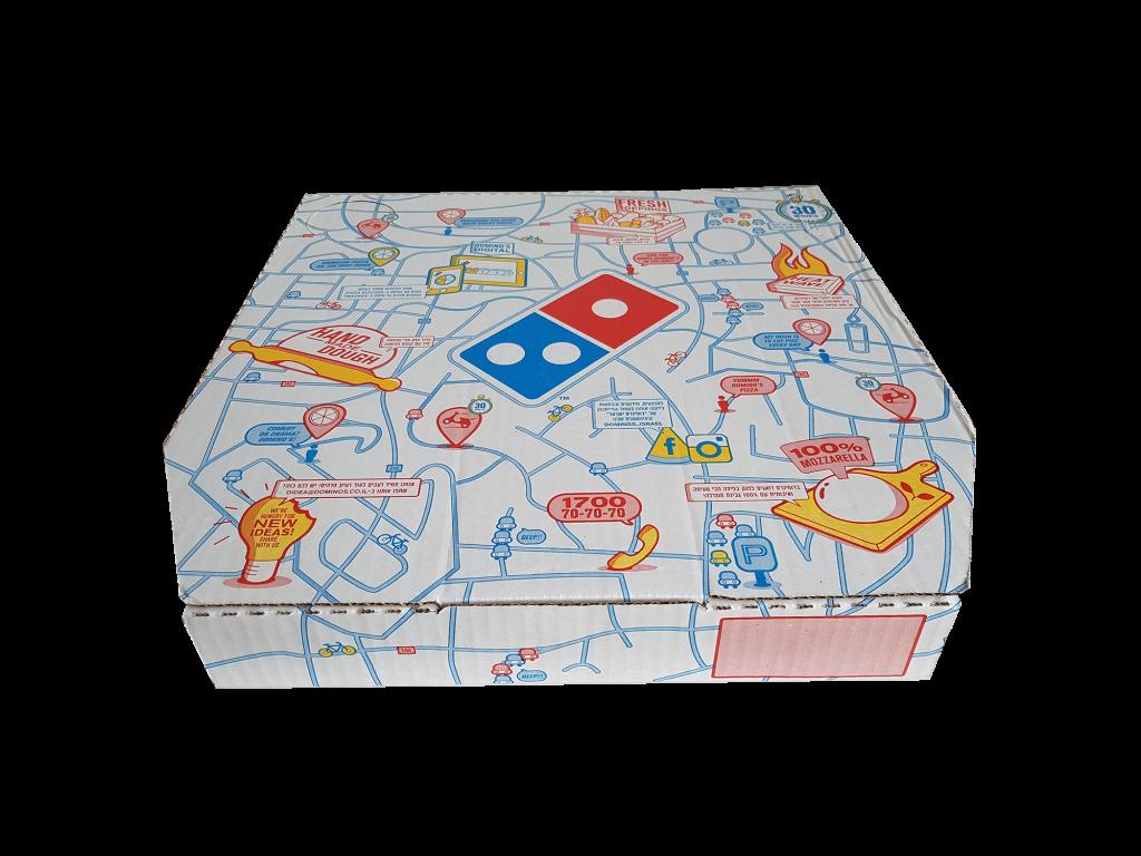 dominos pizza kutusu