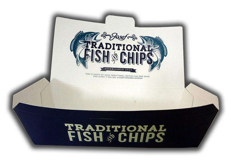 fish and chips kutusu