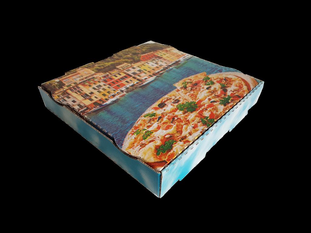 flexo baskılı pizza kutusu