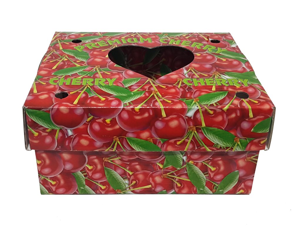 kiraz baskılı kutu