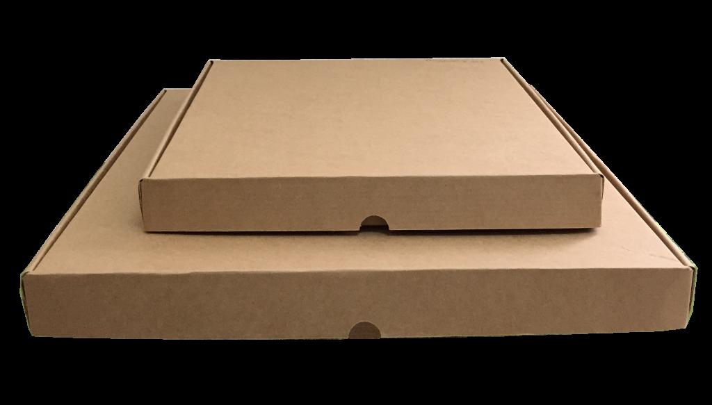 kraft oluklu pizza kutusu