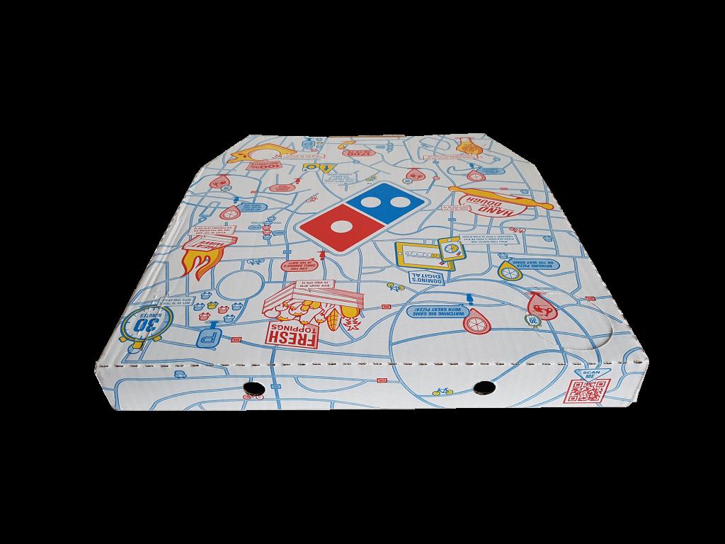 pizza kutusu dominos