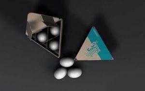 3lü yumurta kutusu