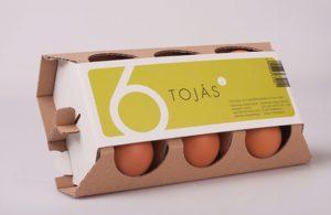 özel çizimli yumurta kutusu