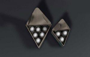 üçgen yumurta kutusu